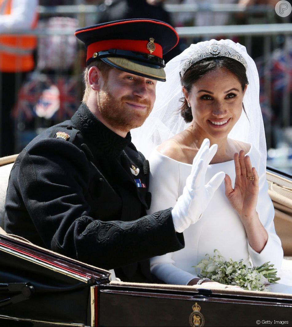 Meghan Markle teve um ano movimentado: casamento com príncipe Harry, gravidez, viagens oficiais, quebra de protocolos, looks que viraram notícia e mais! Relembre o que aconteceu na vida da Duquesa de Sussex em 2018