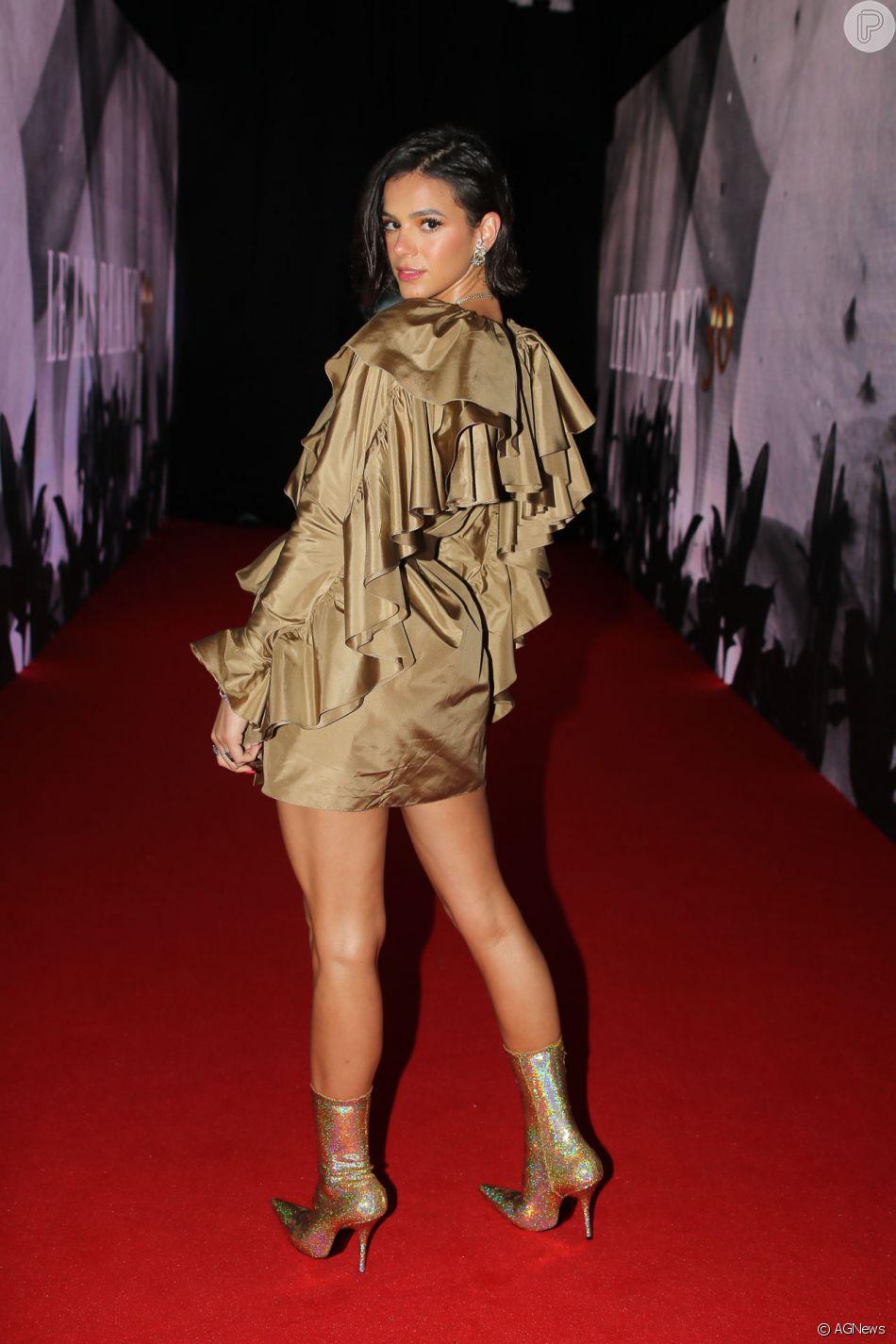 Bruna Marquzine está entre as mais sexy de 2018 na lista da revista 'Istoé Gente'. Veja o ranking a seguir!