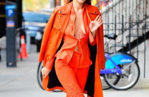 Aprenda a usar look monocromático com Gigi Hadid. Veja fotos!