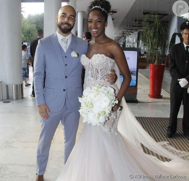 Iza se casou neste domingo, 16 de dezembro, no Rio de Janeiro