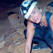 Grazi Massafera conhece cachoeiras e dá mergulho em caverna na Bahia. Fotos!