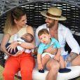 Andressa Suita é casada com Gusttavo Lima, com quem tem Gabriel e Samuel