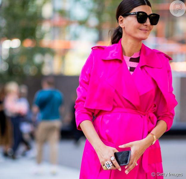 Giovanna Battaglia: pink neon