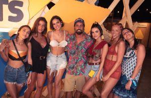 Em Noronha, Manu Gavassi curte praia e festas com looks que são a cara do verão
