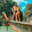 Whindersson Nunes e Luisa Sonza comemoraram 10 meses de casados no destino turístico asiático