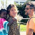 Giovanna Ewbank destacou que a filha, Títi, herdou dela e do marido, Bruno Gagliasso, alguns aspectos