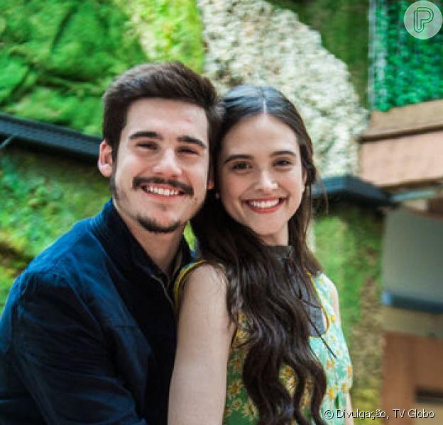 Lúcio (João Baldasserini) acusa Marocas (Juliana Paiva) e Samuca (Nicolas Prattes) de terem matado Emílio (João Baldasserini) na reta final da novela 'O Tempo Não Para': 'Conspiraram para matar o meu irmão'