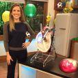 Mariana Ferrão é apresentadora do programa 'Bem estar'