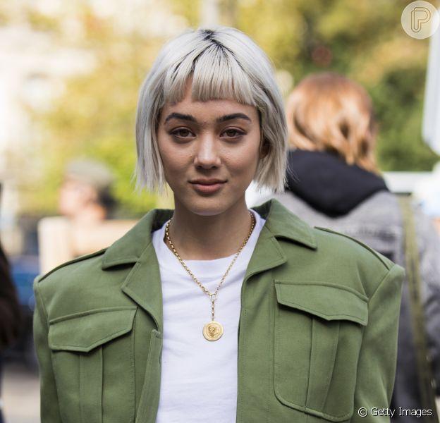 Fashion Army: jaqueta estruturada verde musgo + calça caqui
