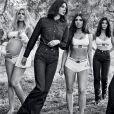 Campanha CK com irmãs Kardashian-Jenner foi lançada nesta quarta-feira, 1 de agosto de 2018