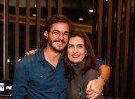 Fátima Bernardes e namorado, Túlio Gadêlha, vão a show de Ney Matogrosso. Fotos!