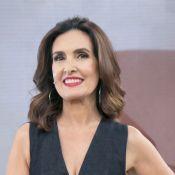 Fátima Bernardes avalia mudanças ao se comparar em foto de 2009: 'Outra pessoa'