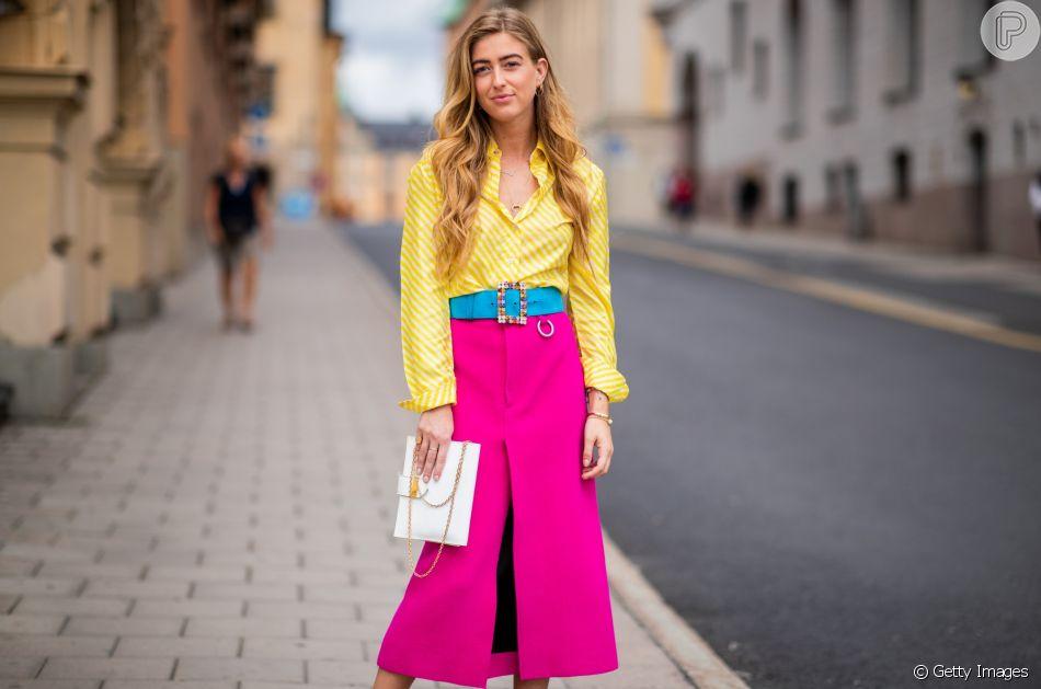 8966a1873 Moda de verão: Como usar a tendência do color blocking no seu look ...