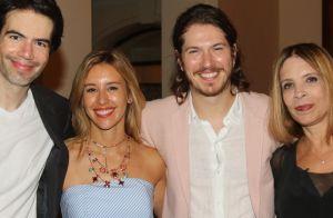 Caio Paduan e Cris Dias fazem primeira aparição pública como casal: 'Felizes'