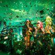 Bruna Marquezine curte a festa Outros 500 - Le Cirque na Urca, no Rio de Janeiro