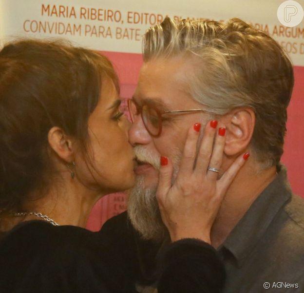 Maria Ribeiro exaltou Fabio Assunção após ex-namorado chegar a um acordo com autores de música que leva o nome dele: 'Eu amo esse cara. Para sempre'