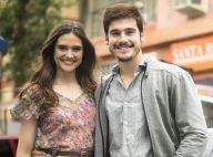 Nicolas Prattes e Juliana Paiva cantam sucesso de Jorge Vercillo em festa. Vídeo