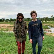 Filho de Giovanna Antonelli impressiona por altura em foto com mãe: 'Tá enorme'