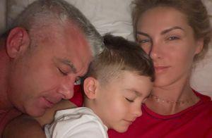 Com foto da família reunida, Ana Hickmann lamenta morte do pai: 'Parece mentira'