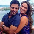 Zezé Di Camargo assumiu namoro com a jornalista Graciele Lacerda