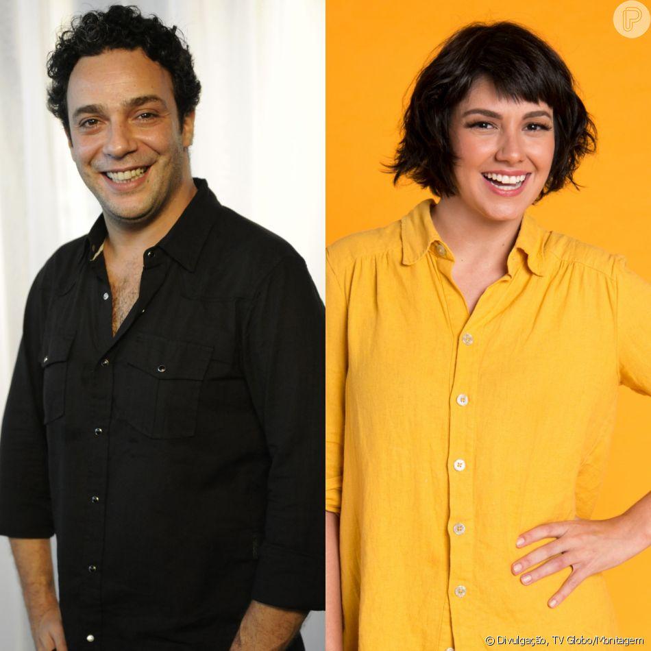Abner (Marcelo Médici) e Sara (Verônica Debom), noiva arranjada pela mãe judia do rapaz, não vão se bicar na próxima novela das seis, 'Órfãos da Terra', com estreia prevista para março de 2019