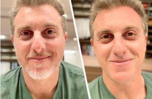 Luciano Huck se despede de visual com barba e impressiona fãs   Mais jovem  455fb5296d