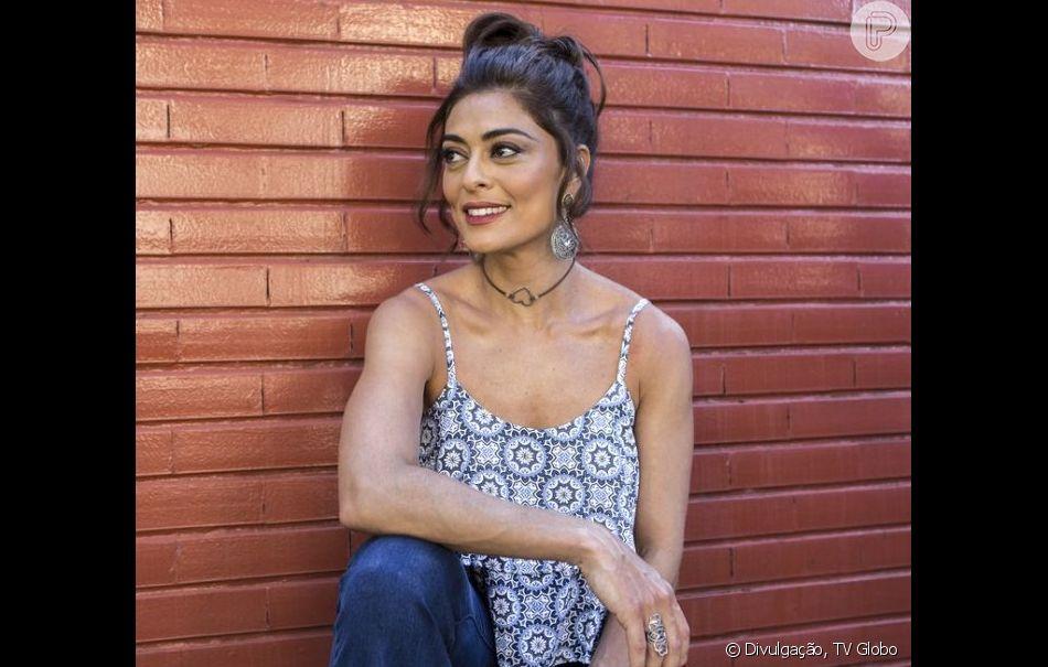 Juliana Paes interpretará Maria da Paz na próxima novela das nove, 'Dias Felizes'
