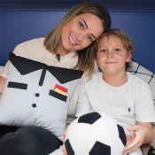 Filho de Neymar enche a mãe, Carol Dantas, de elogios em vídeo: 'Maravilhosa'