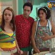 Guta Stresser, Marieta Severo e Lucio Mauro Filho na temporada de 2006 do seriado 'A Grande Família'