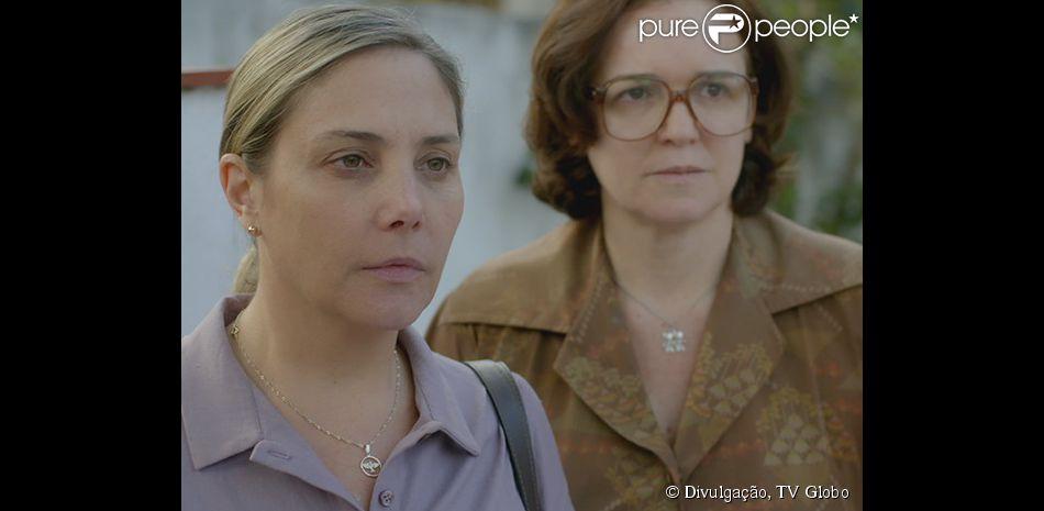 Beatriz (Heloísa Périssé) desconfia de que Jussara (Thati Lopes) esteja mentindo sobre o relacionamento com Alex (Fernando Belo), em 'Boogie Oogie', em 30 de setembro de 2014