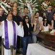 Família, amigos e fãs fizeram oração por Bibi Ferreira, no Theatro Municipal, nesta quinta-feira, 14 de fevereiro de 2019