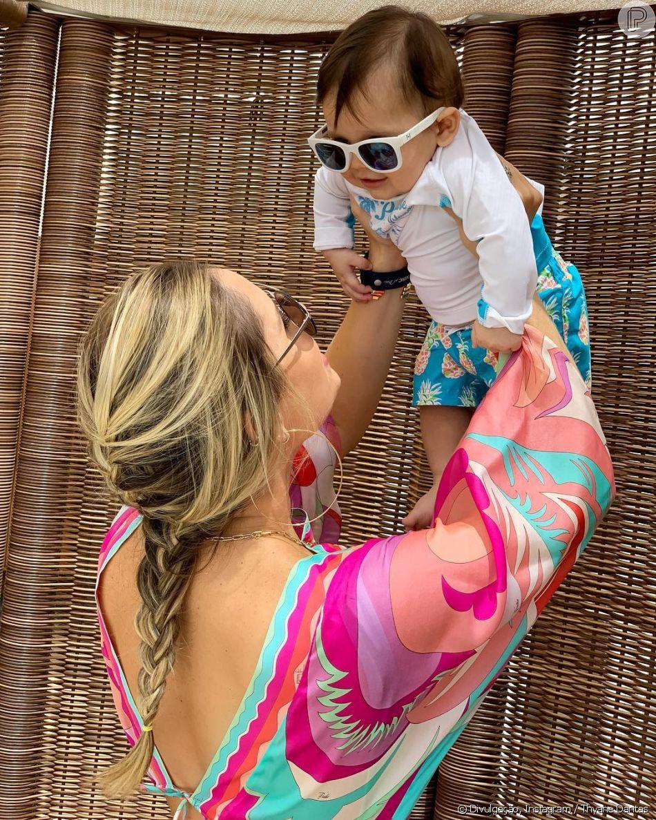 Thyane Dantas celebrou 5 meses do filho, Dom, com foto fofa no Instagram  nesta bb95419ef1