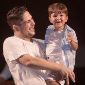 Filho de sertanejo Jorge impressiona por semelhança com pai: 'Sua cara na foto'