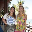 Preta Gil sempre faz questão de convidar a amiga Carolina Dieckmann para os seus eventos de carnaval