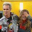 Supla e Bárbara Paz se conheceram durante a participação no reality show 'Casa dos Artistas' e continuaram o romance fora da casa