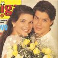 Cristiana Oliveira e Fábio Assunção namoraram em 1992