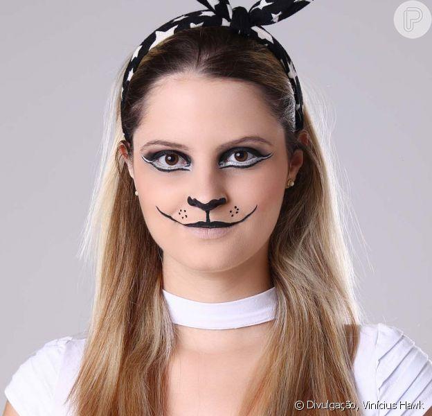 Aprenda o passo a passo da maquiagem de gatinha para o Carnaval!