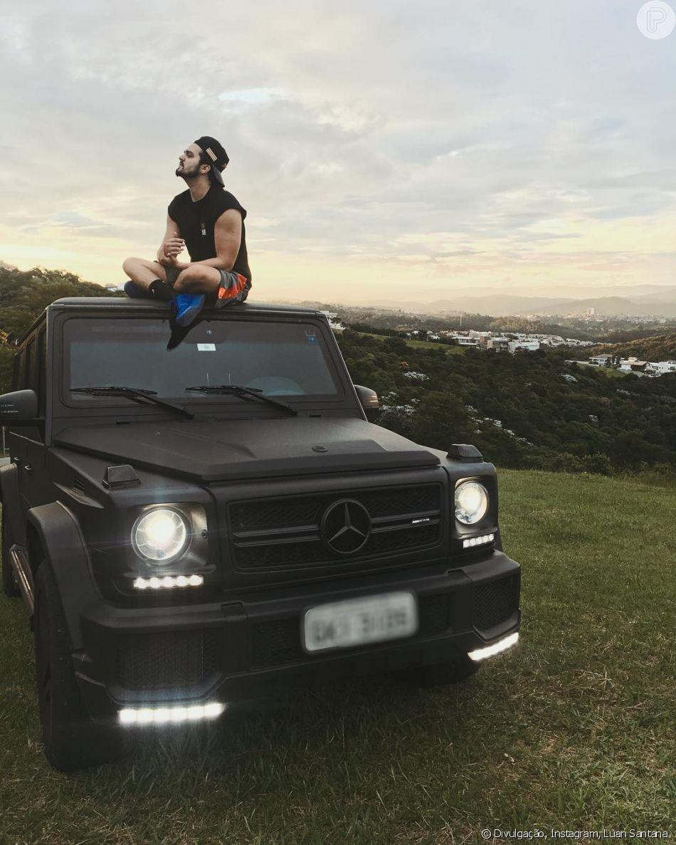 Luan Santana ostenta ao comprar carro de luxo da marca Mercedes-Benz que pode chegar a custar quase 1,2 milhão de reais