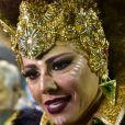 Mancha Verde de Viviane Araujo foi campeã pela primeira vez no carnaval de São Paulo
