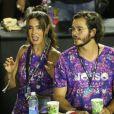 Fátima Bernardes se divertiu ao lado do namorado, Túlio Gadêlha, na noite deste sábado, 9 de março de 2019