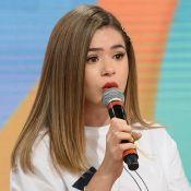 Maisa Silva chora ao lançar primeiro talk-show na TV: 'Estou em uma TPM hard'