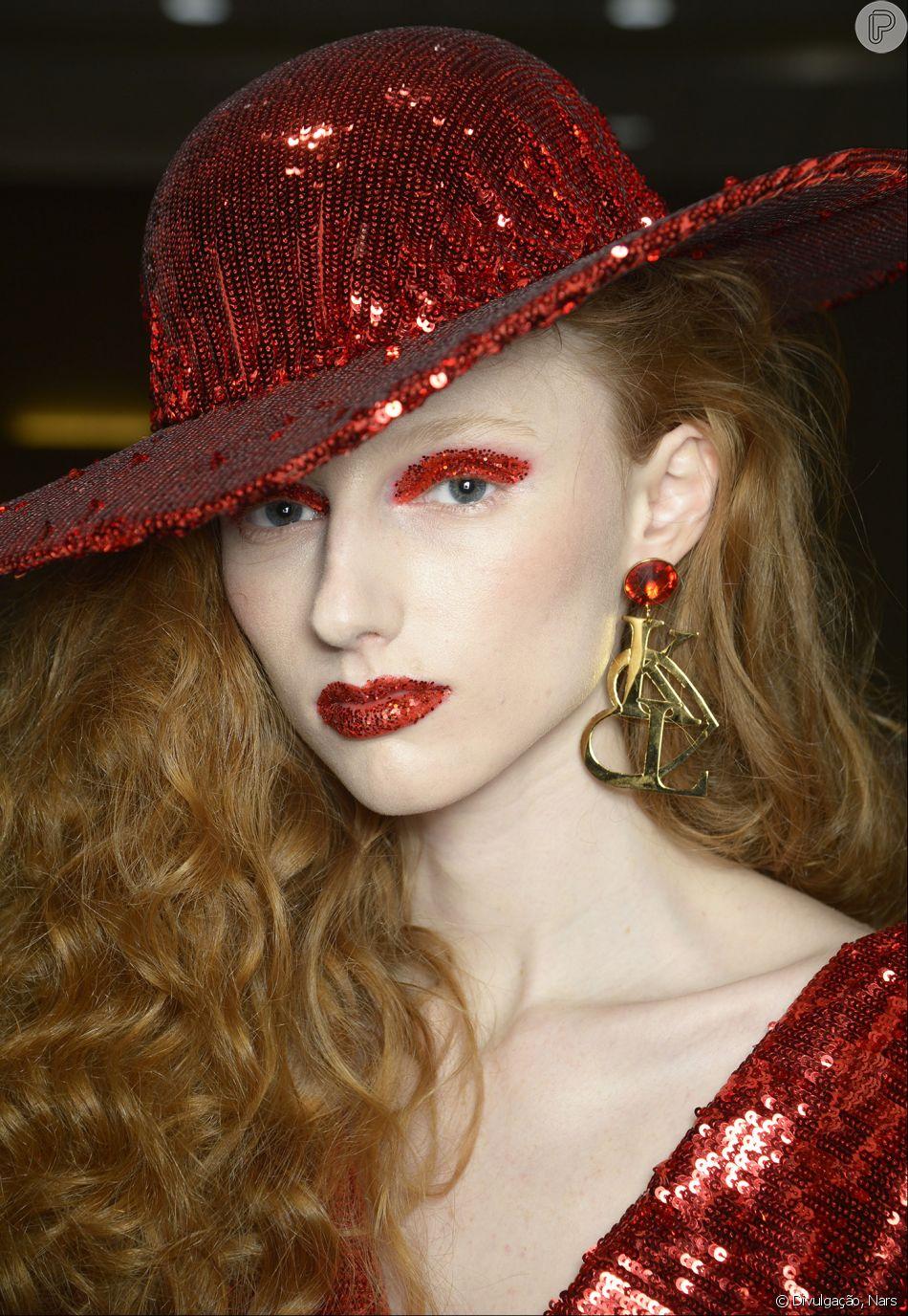 Maquiagem da Rodarte foi inspirada no brilho dos musicais de Hollywood