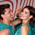 Camila Queiroz e Klebber Toledo estão juntos desde 2016