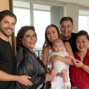 Que fofinha! Duda Nagle posta foto de Zoe com Sabrina Sato e avós: 'Família'