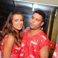 Paula Morais e Ronaldo assumiram o namoro pouco tempo depois do término do casamento do ex-atleta