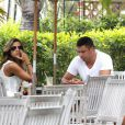 O novo casal está apaixonado e Paula se declarou para Ronaldo recentemente em sua conta do Instagram