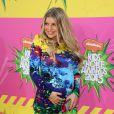 Fergie engravidou e deu à luz Axl, em agosto de 2013