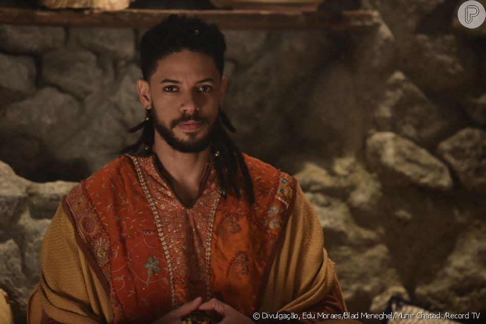 Na novela 'Jesus', Goy (Paulo Lessa) ressuscita no capítulo