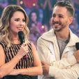 Sandy e Junior foram surpreendidos por declarações emocionadas de seus pais, Noely e Xororó