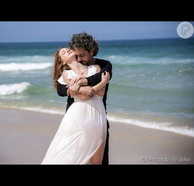 Confira detalhes do casamento entre Maria Ísis (Marina Ruy Barbosa) e José Alfredo (Alexandre Nero) na novela 'Imperio', divulgados neste sábado, 4 de outubro de 2014